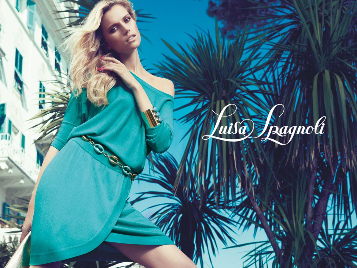 Luisa spagnoli fashion show